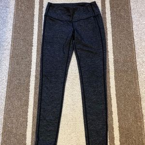 Athleta Dark Heathered Grey Leggings